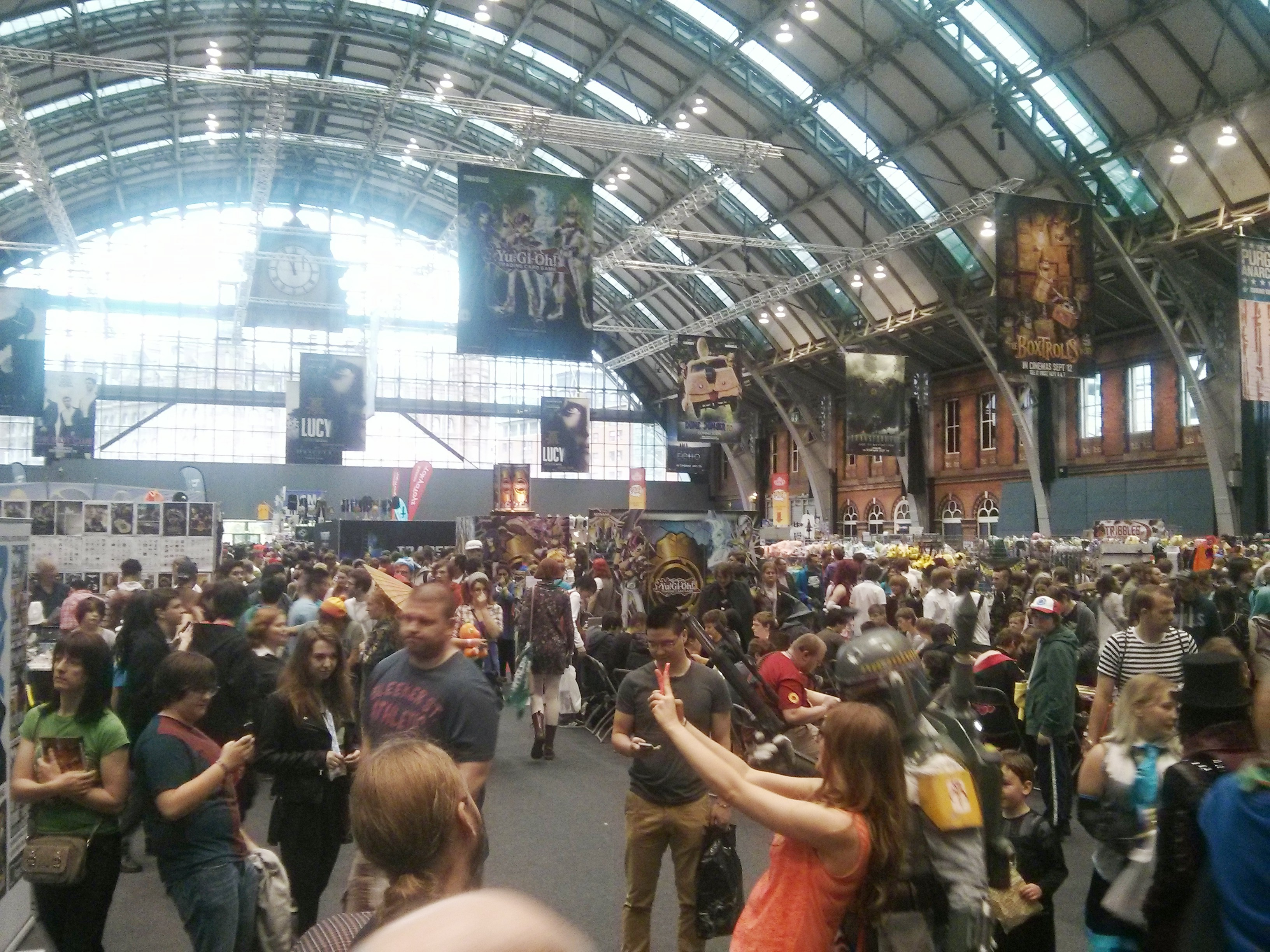Manchester Comic Con 2014 – A newbies guide to Comic Con