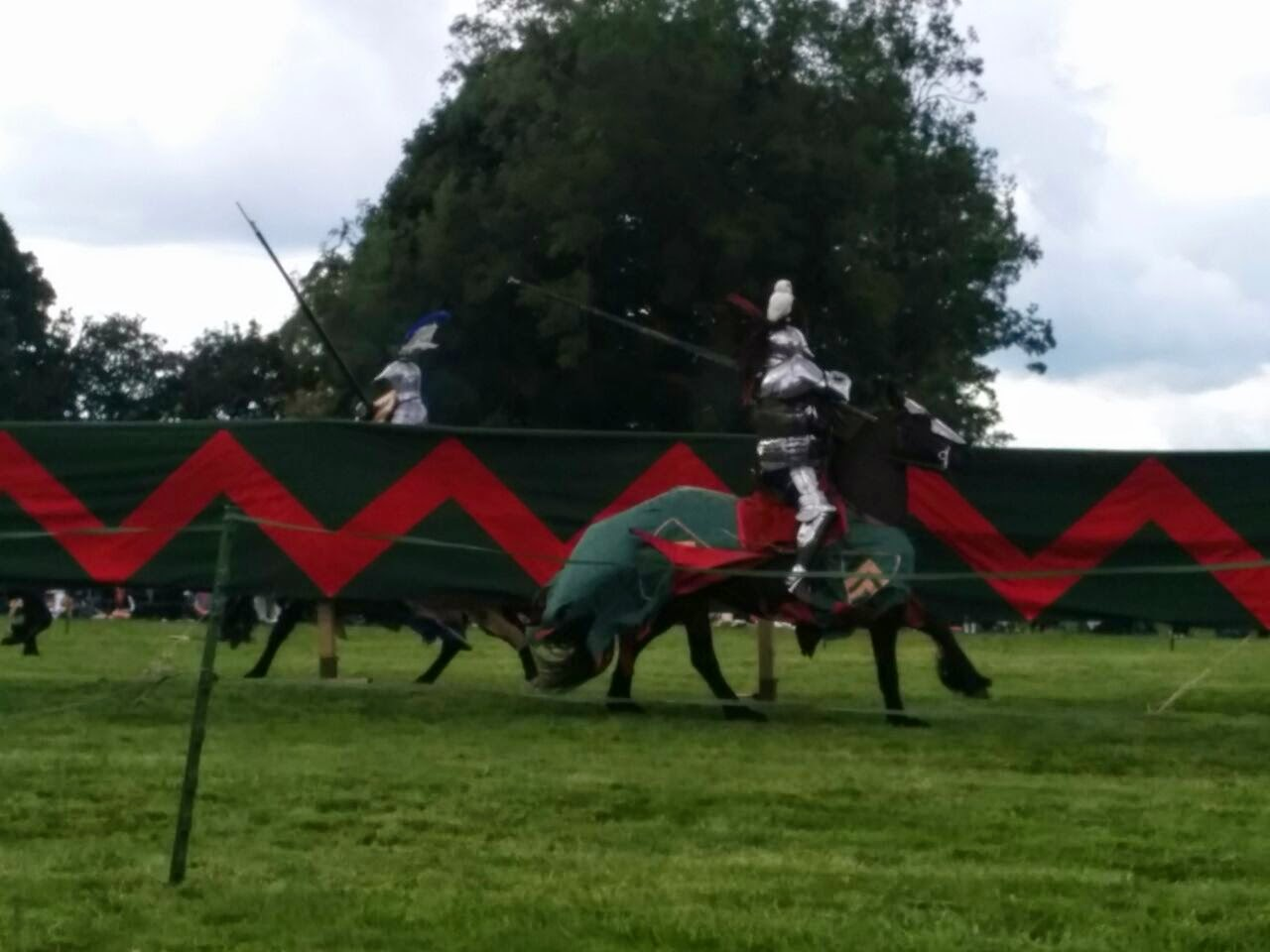 Grand Medieval Joust at Bolsover Castle