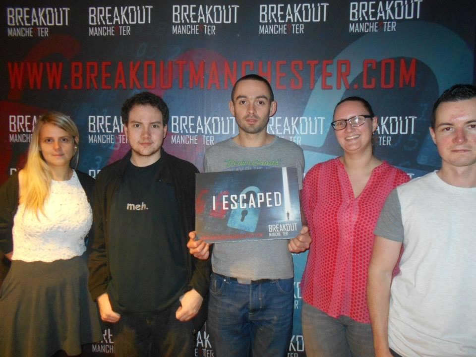Breakout Manchester – Sabotage