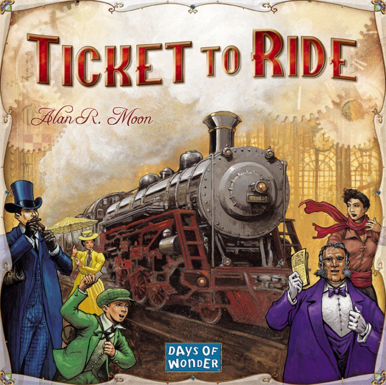 Game Review – Ticket to Ride