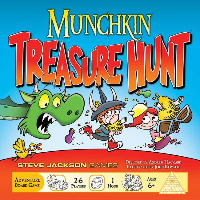 Game Review – Munchkin Treasure Hunt