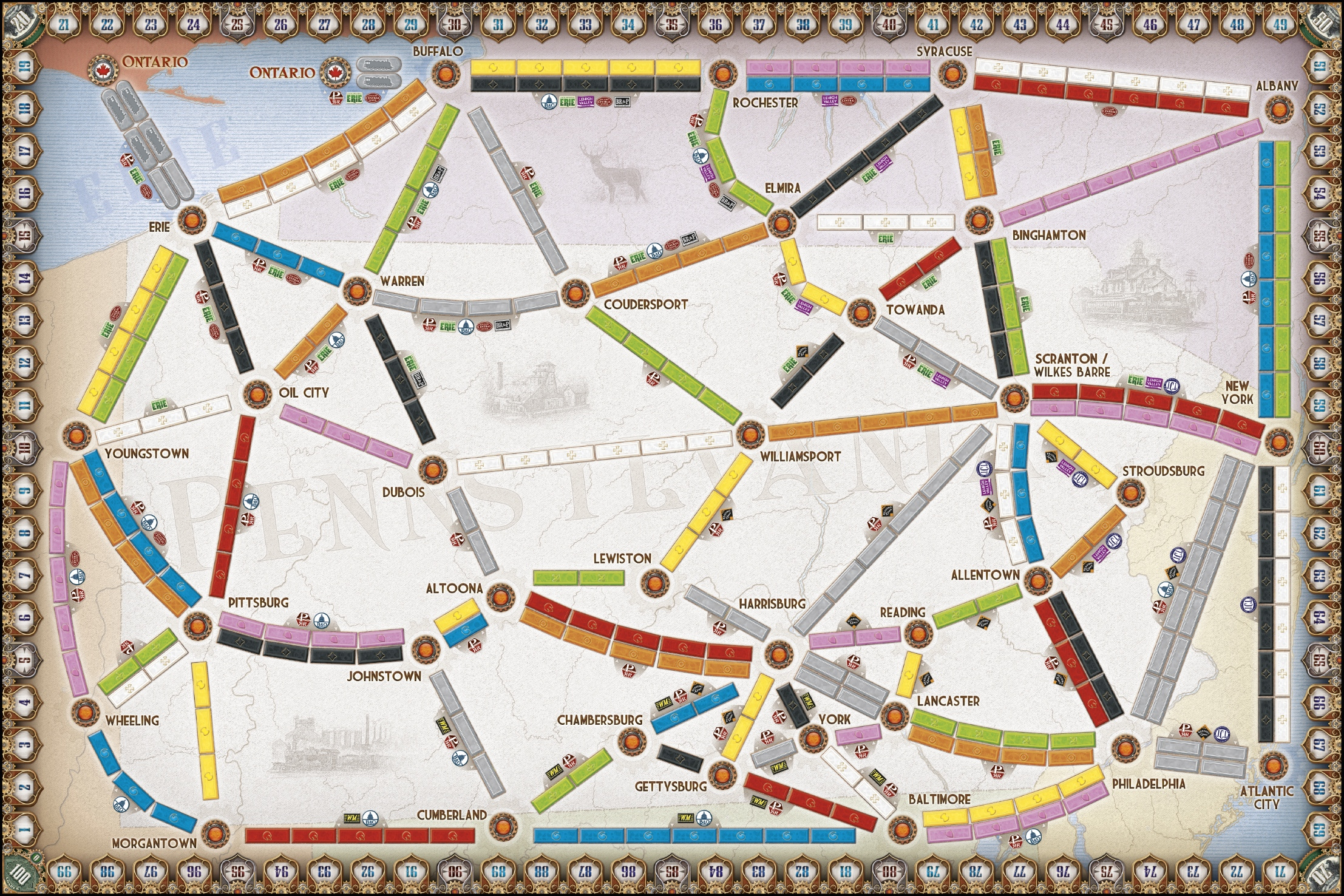 how to win at ticket to ride