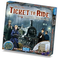 Game Review – Ticket to Ride United Kingdom: The UK Board