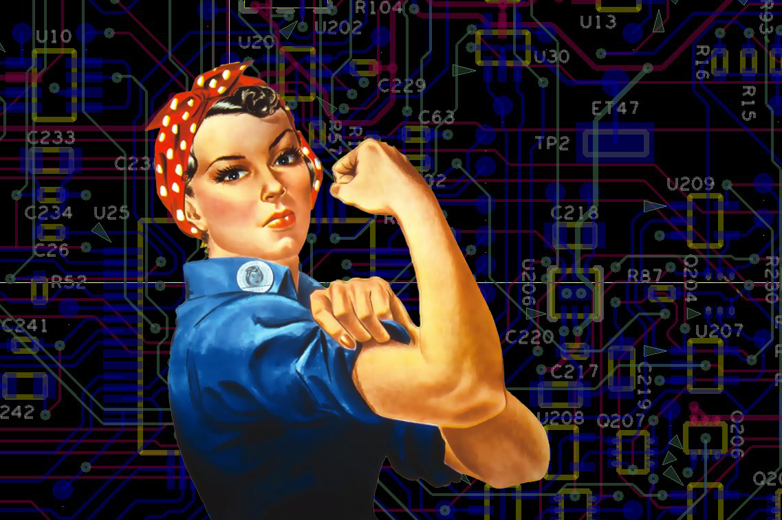 How should we be addressing the issue of Women in Tech?