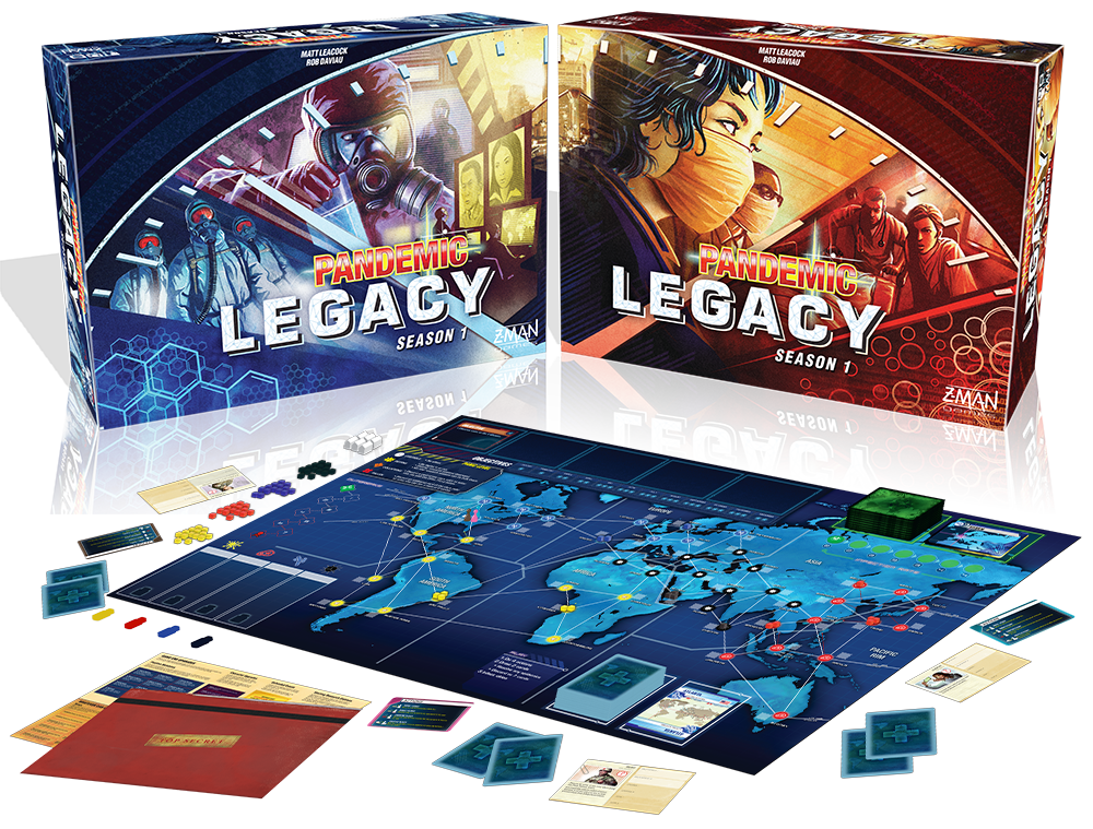 Pandemic Legacy: January – March