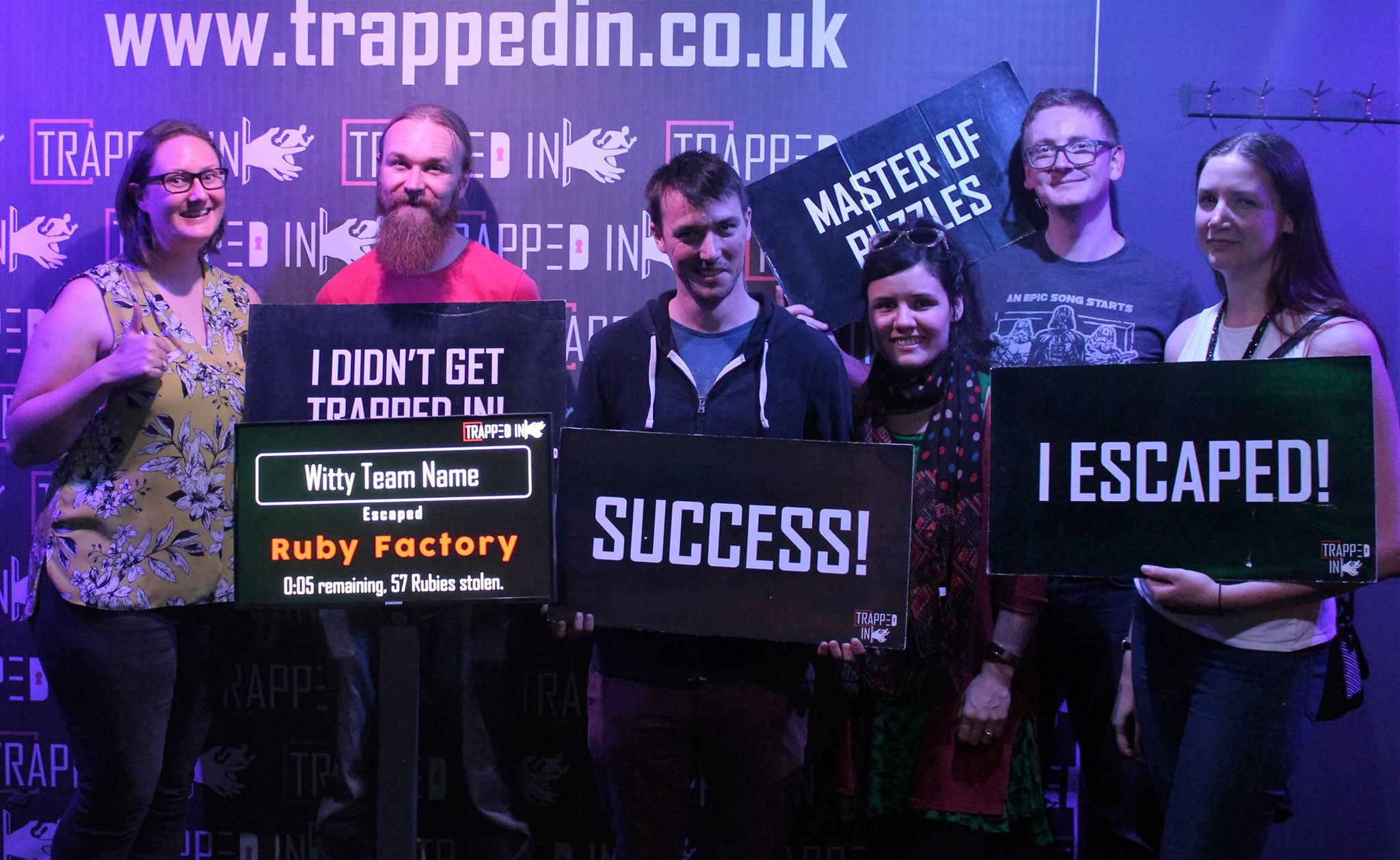 Trapped In, Bury – The Ruby Factory & Crazy Clown's Carnival