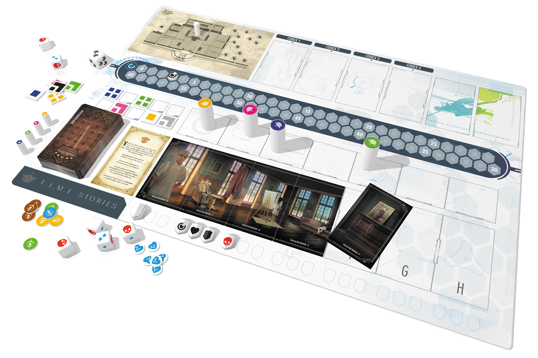 Game Review – T.I.M.E Stories, Asylum