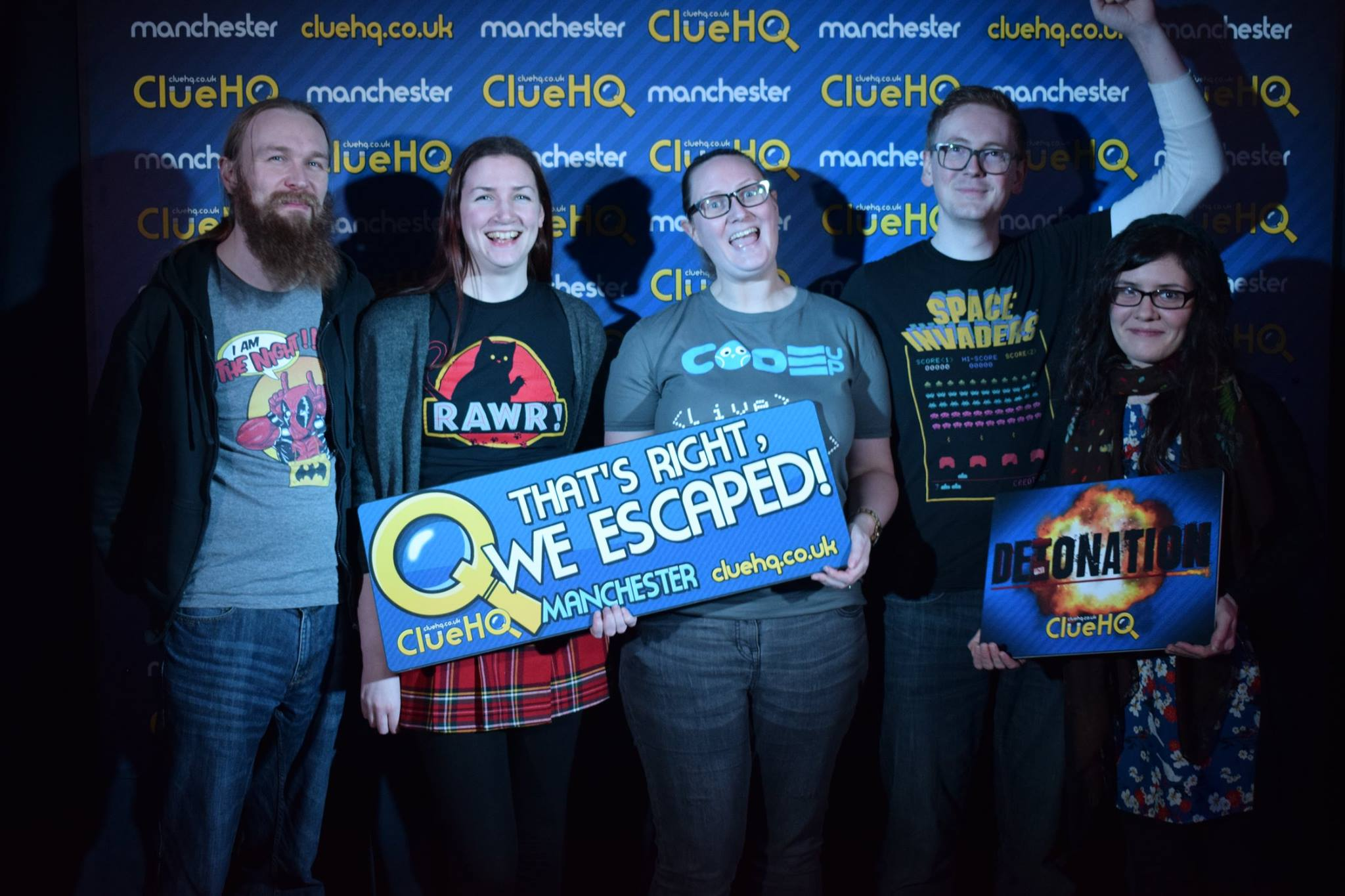 Clue HQ, Manchester – Detonation