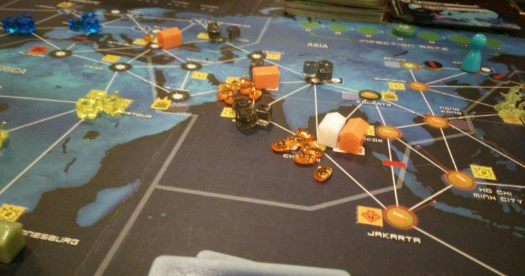 Pandemic Legacy: October – December