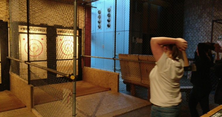 Everything you need to know about Whistle Punks Urban Axe Throwing