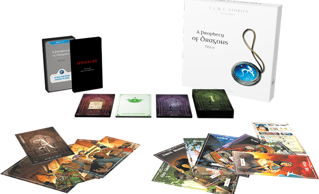Game Review – T.I.M.E Stories, Prophecy of Dragons