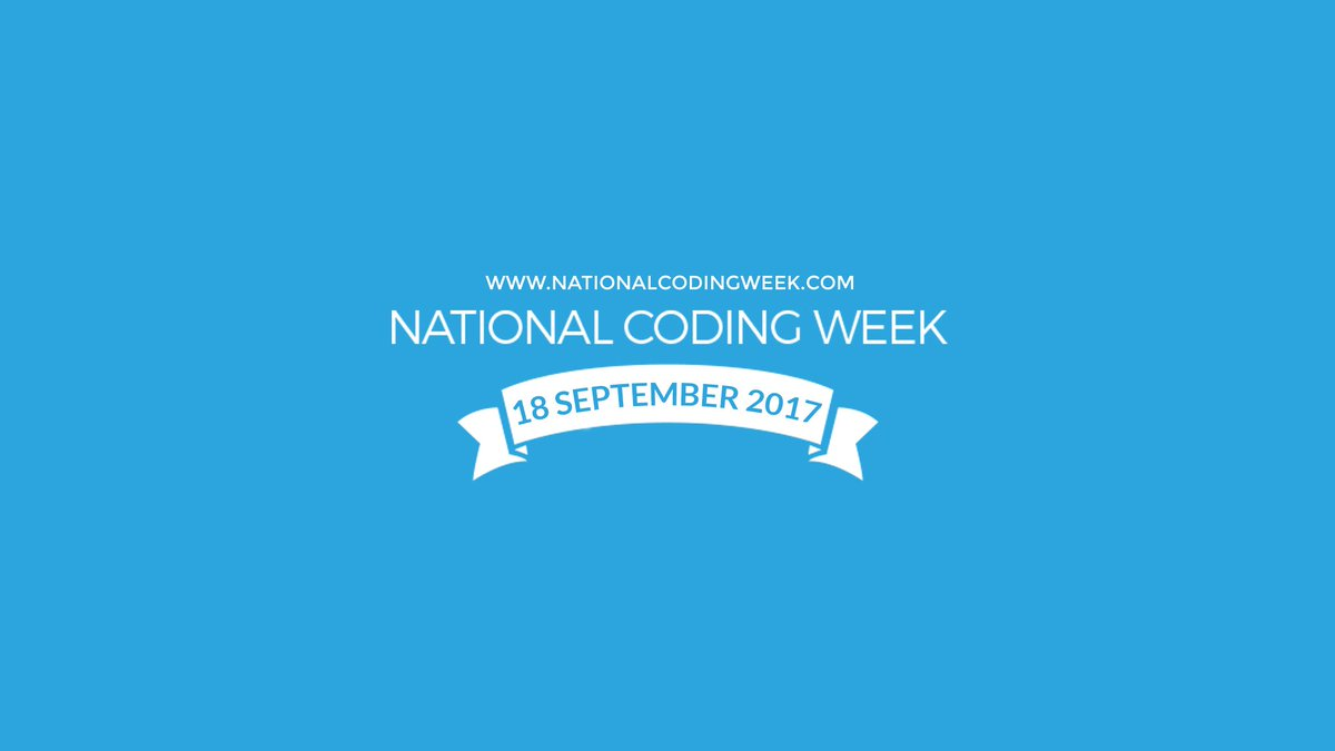 National Coding Week Manchester 2017