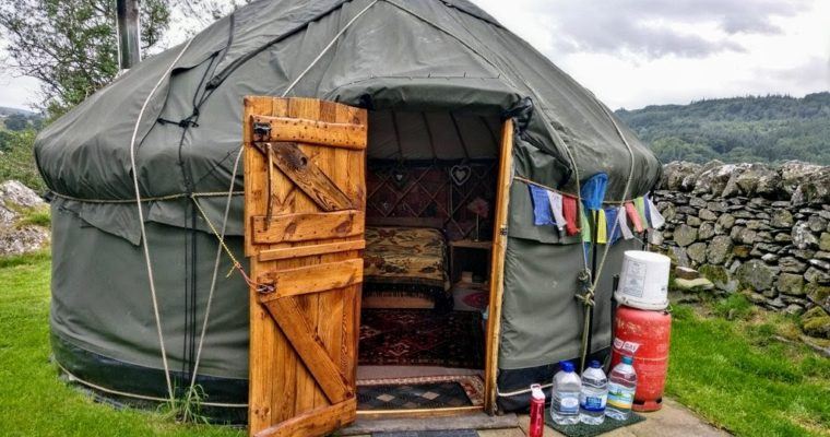 Glamp it up with a Yurt in North Wales