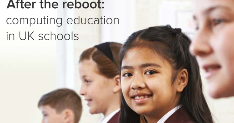 After the reboot – providing support for computing teachers