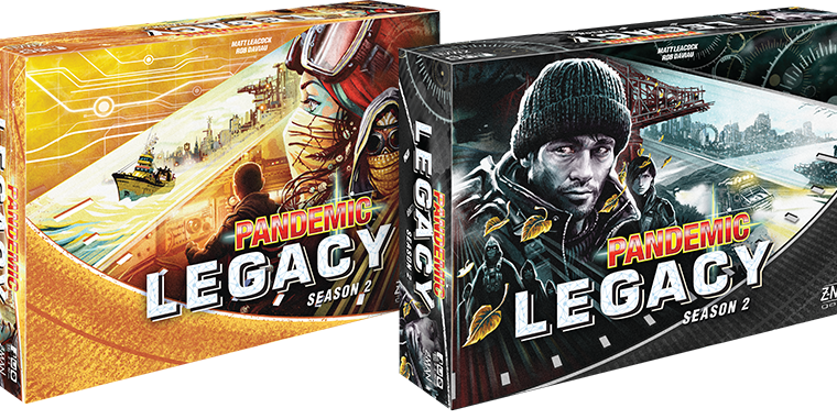 Pandemic Legacy Season 2 First Look – NO SPOILERS
